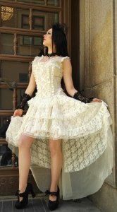 Ophelie dress cream lace