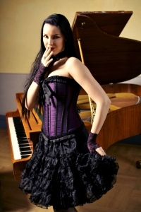 Lily hook corset