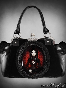 Red doll bag