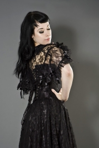 Amy bolero black lace