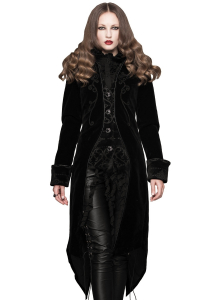 Narcissa velvet coat