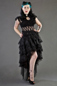 Ophelie skirt black lace