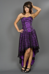 Mollflander dress purple