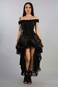 Versailles dress black