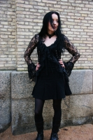 Morticia jacket black