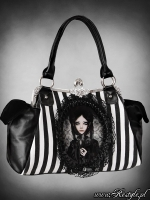 Black doll bag