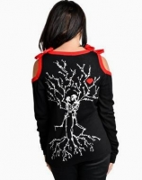 Skel tree lovers cardigan