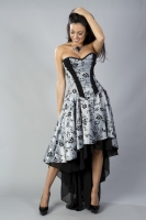 Valerie dress silver