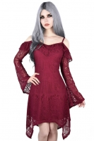 Deadly beloved burial dress wine
