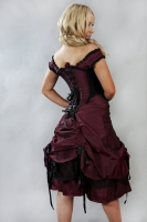 Dita dress burgundy