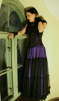 Purple rara skirt