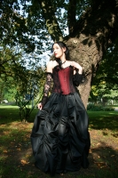 Ballgown skirt black