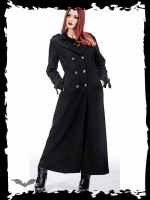 Dark lady winter coat