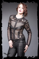 Stunning lace & net jacket
