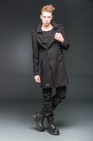 Military look winter coat