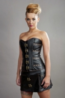 C-Lock corset leather look