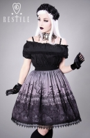 Cemetery skirt grey