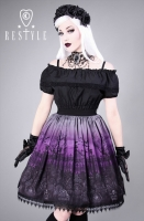 Cemetery skirt purple