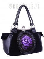 Purple romance bag
