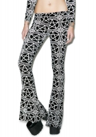Pentagram velvet bellbottoms