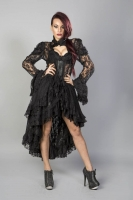 Valentina jacket black lace
