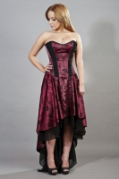 Valerie dress burgundy
