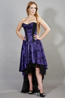 Valerie dress purple