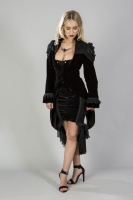 Vampiria coat black lace