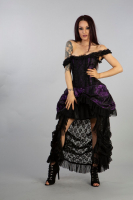 Versailles dress purple